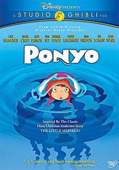 Ponyo - Widescreen - DVD - Used