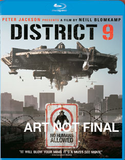 District 9 - Blu-ray - Used
