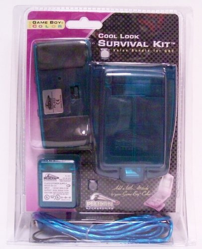 Cool Look Survival Kit for Game Boy Color (blue) - Game Accessory - New