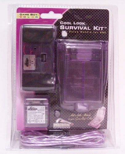 Cool Look Survival Kit for Game Boy Color (purple) - Game Accessory - New