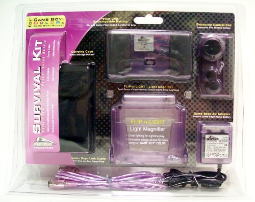 Survival Kit for Game Boy Color (purple) - Game Accessory - New