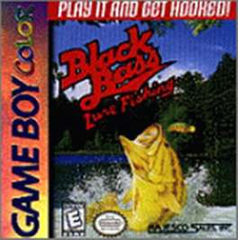 Black Bass Lure Fishing - Game Boy Color - Used