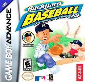 Backyard Baseball 2006 - GBA - Used