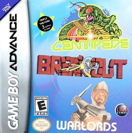 Breakout / Centipede / Warlords - GBA - Used