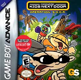 Codename: Kids Next Door - Operation S.O.D.A. - GBA - Used