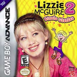 Disney's Lizzie McGuire 2: Lizzie Diaries - GBA - Used