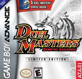 Duel Masters: Sempai Legends (Limited Edition) - GBA - Used