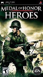 Medal of Honor Heroes - PSP - Used