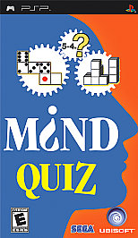Mind Quiz - PSP - Used