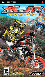 MX vs. ATV Unleashed: On the Edge - PSP - Used