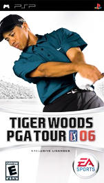 Tiger Woods PGA Tour 06 - PSP - Used