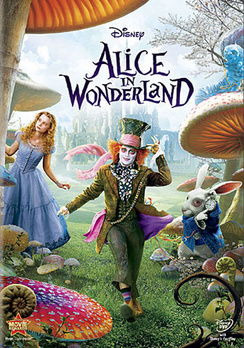 Alice in Wonderland - DVD - Used
