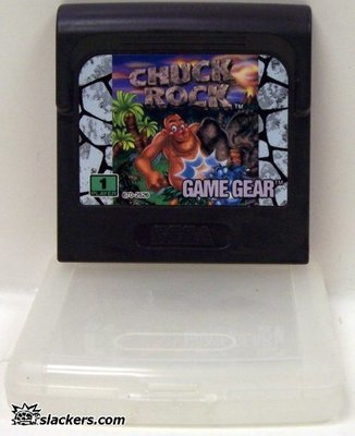 Chuck Rock - Game Gear - Used