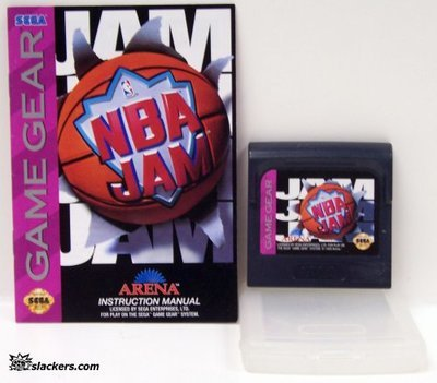 NBA Jam with manual - Game Gear - Used