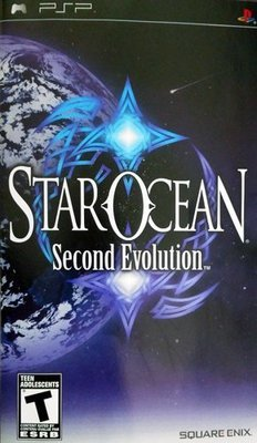 Star Ocean Second Evolution - PSP - Used