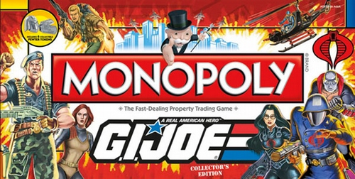 Monopoly: GI Joe Collector's Edition - New