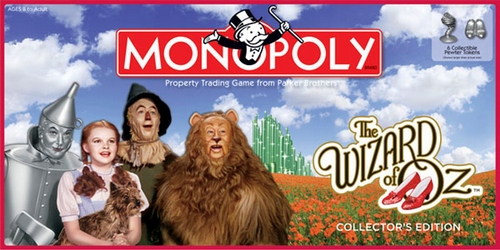 Monopoly: The Wizard of Oz Collector's Edition - New