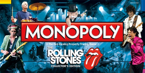 Monopoly: The Rolling Stones Collector's Edition - New