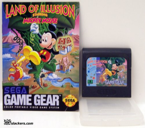 Land of Illusion Mickey Mouse with manual - Game Gear - Used