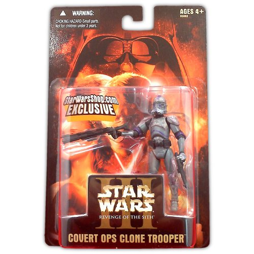Star Wars Episode III Covert Ops Clone Trooper - Action Figure - New