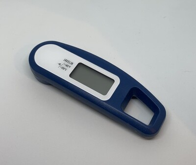 Javelin Instant Read Thermometer - Blue