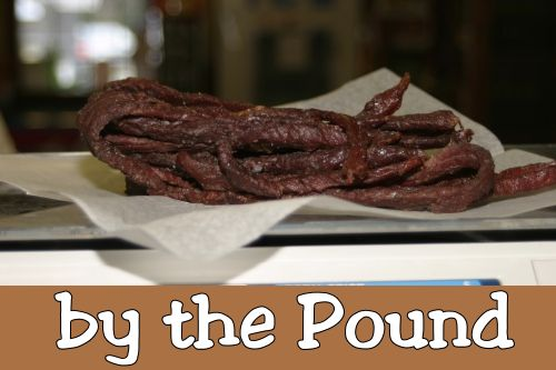 Beef Jerky (by the pound)