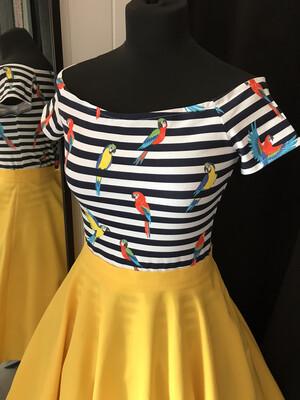 Parrots 🦜 Stripes Navy