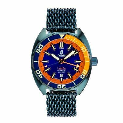 Core Diver GMT Blue Steel