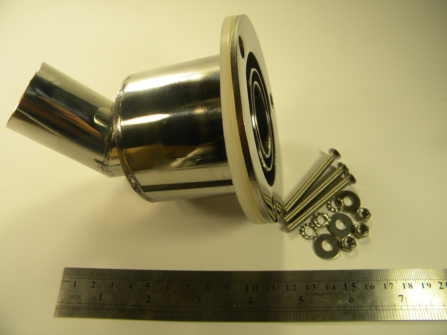 Exhaust fitting triple (SALE)