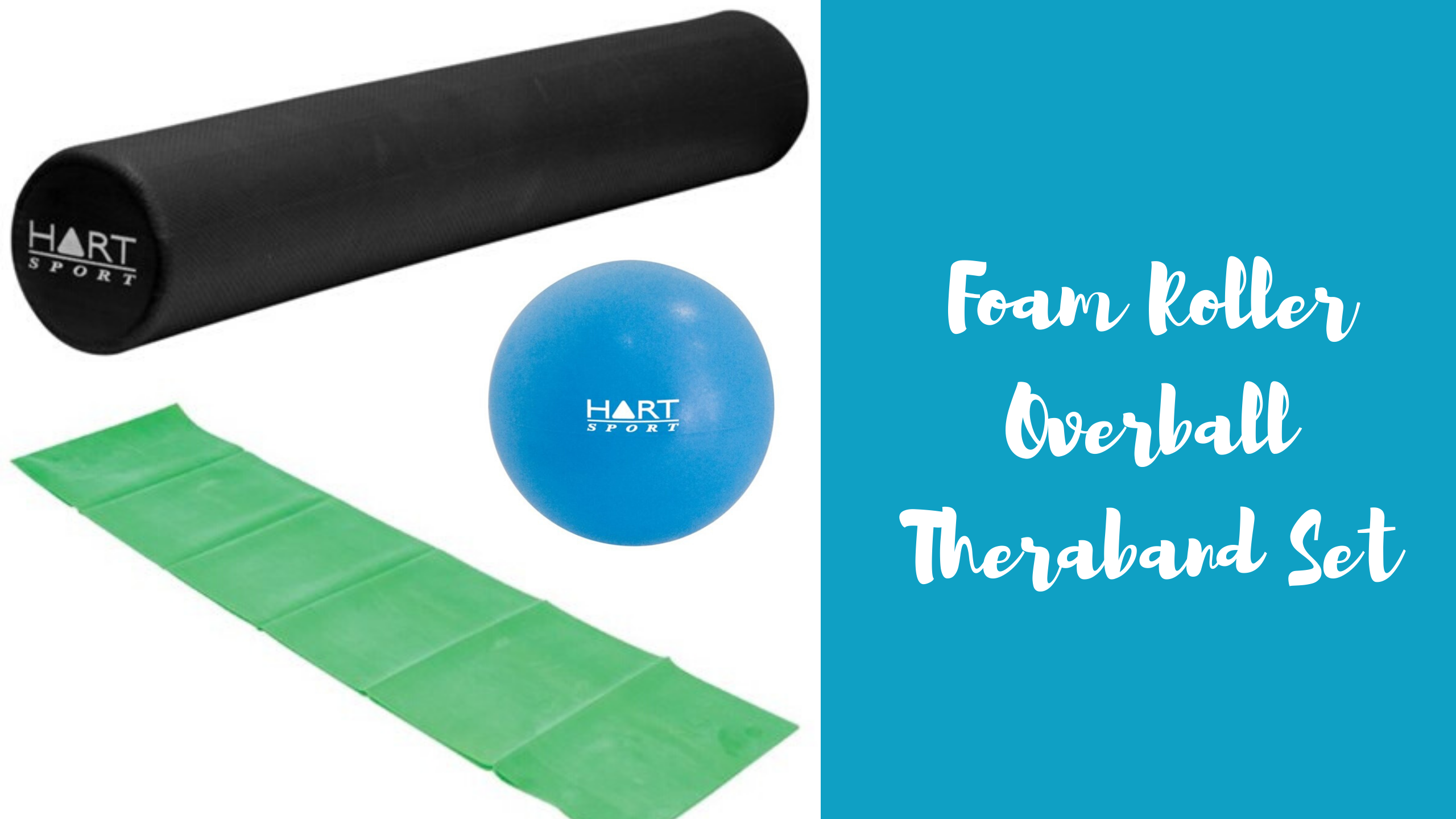 Foam Roller Overball Theraband Set 00183