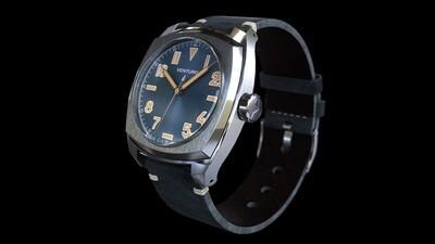 Venturo Field Watch #2 Blu sunburst / Blue Sunburst