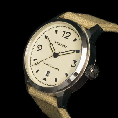 Venturo Field Watch #1 Crema / Cream
