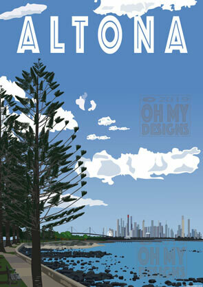 Altona - View to Melbourne
