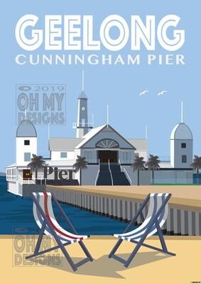 GEELONG - Cunningham Pier