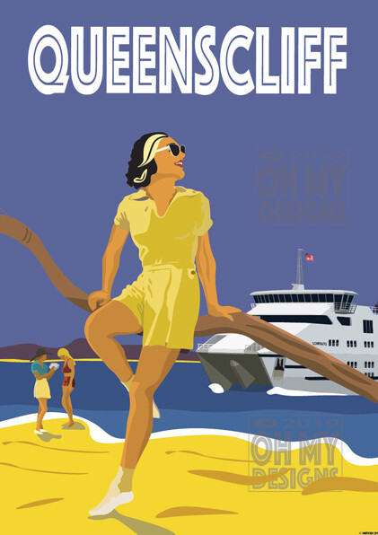 Queenscliff - Ferry Girl