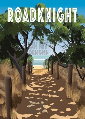 Point Roadknight - Beach Path
