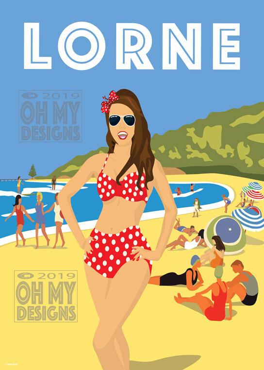 Lorne - Beach Girl