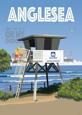 NEWEST! Anglesea - Life Saving Patrol Tower