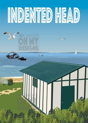 NEWEST! Indented Head Boat shed