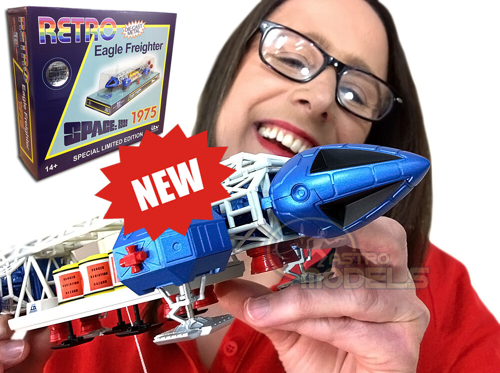 "Sixteen12 Diecast Retro Eagle Freighter From 'SPACE: 1999' - 12"" Long LIMITED EDITION!"