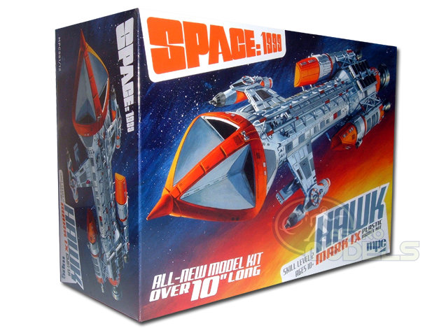 "MPC Hawk Mk.IX Model - Space: 1999 - 1:72 Scale - Over 10"" Long - Superb Detail!"