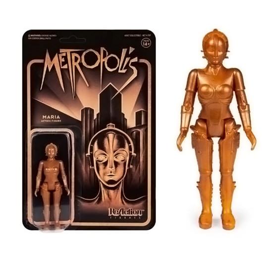 ReAction Maria Robot Figure - Metropolis - 3 3/4-Inch Figure