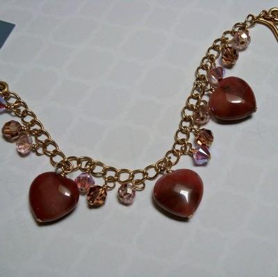 Take My Heart Gold Filled Bracelet