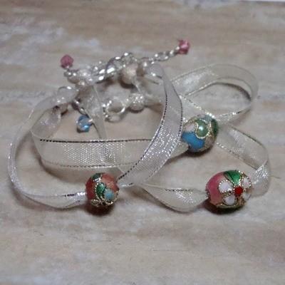 Sweet Pea Sterling Bracelet