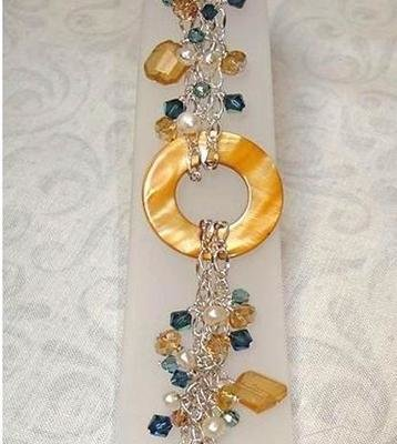Tuscan Sunrise Sterling Bracelet