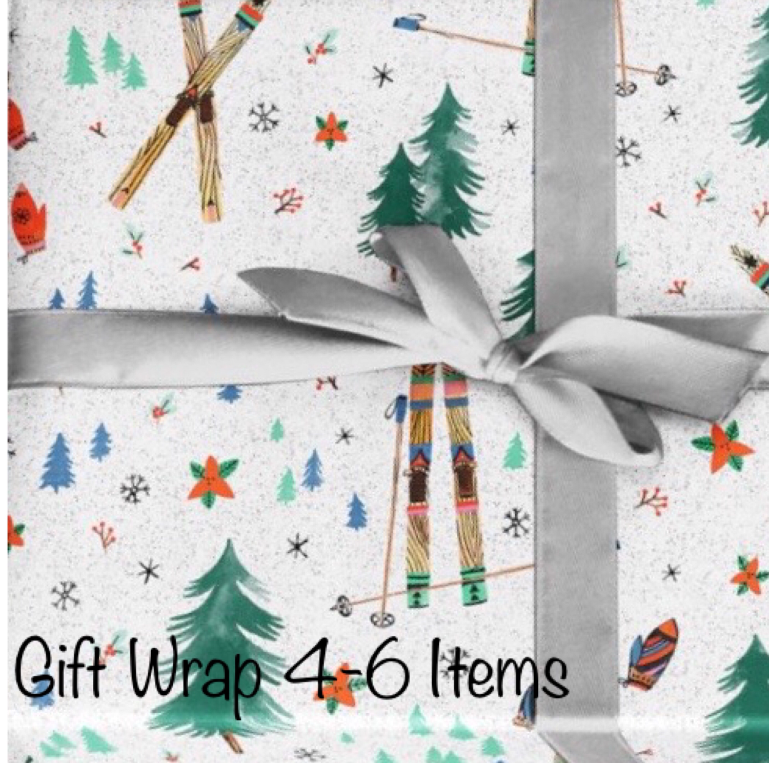 Holiday Gift Wrapping 4-6 items