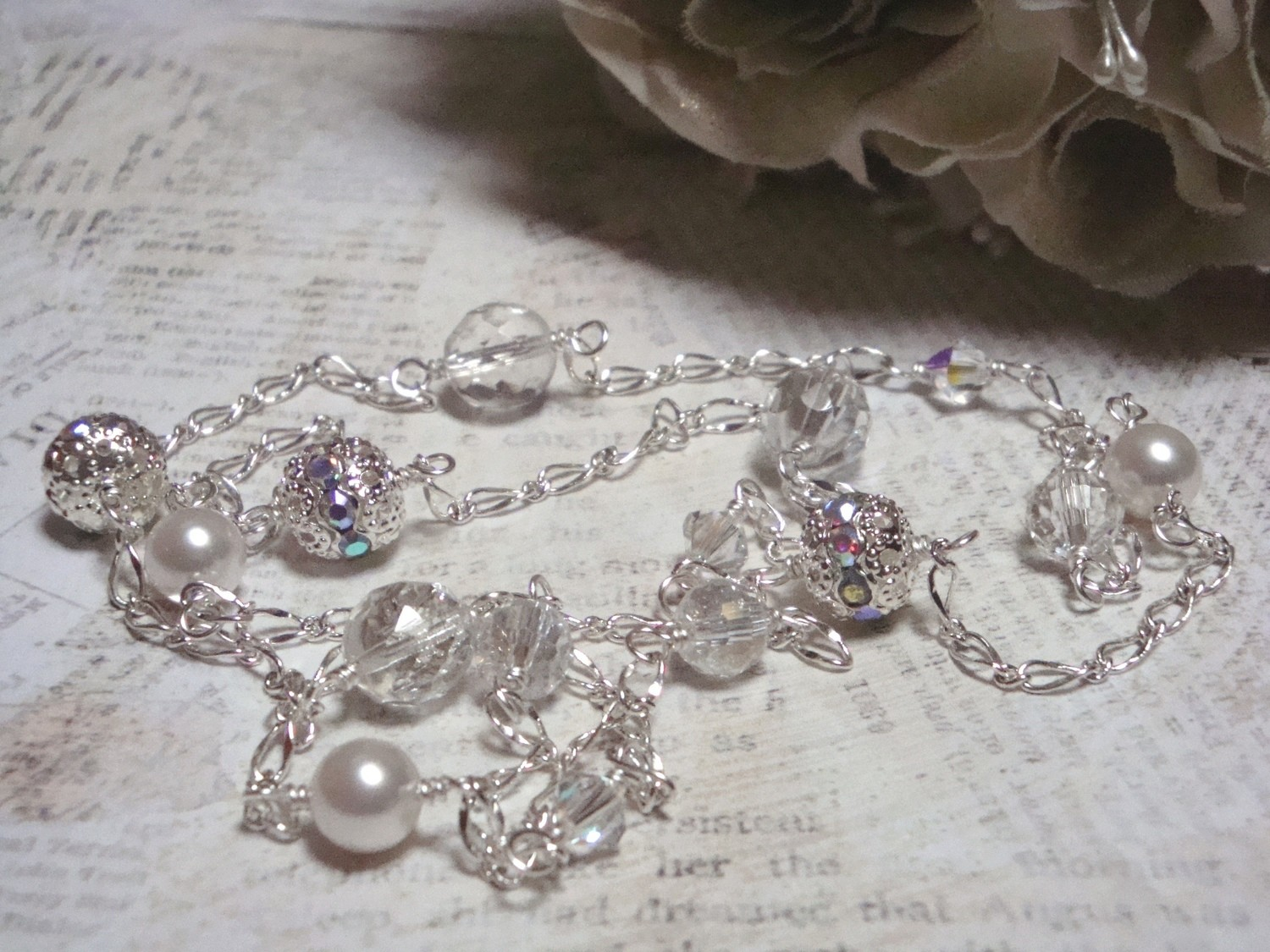 Sugar Frosted Necklace