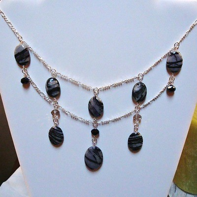 The Midnight Beauty Sterling Necklace