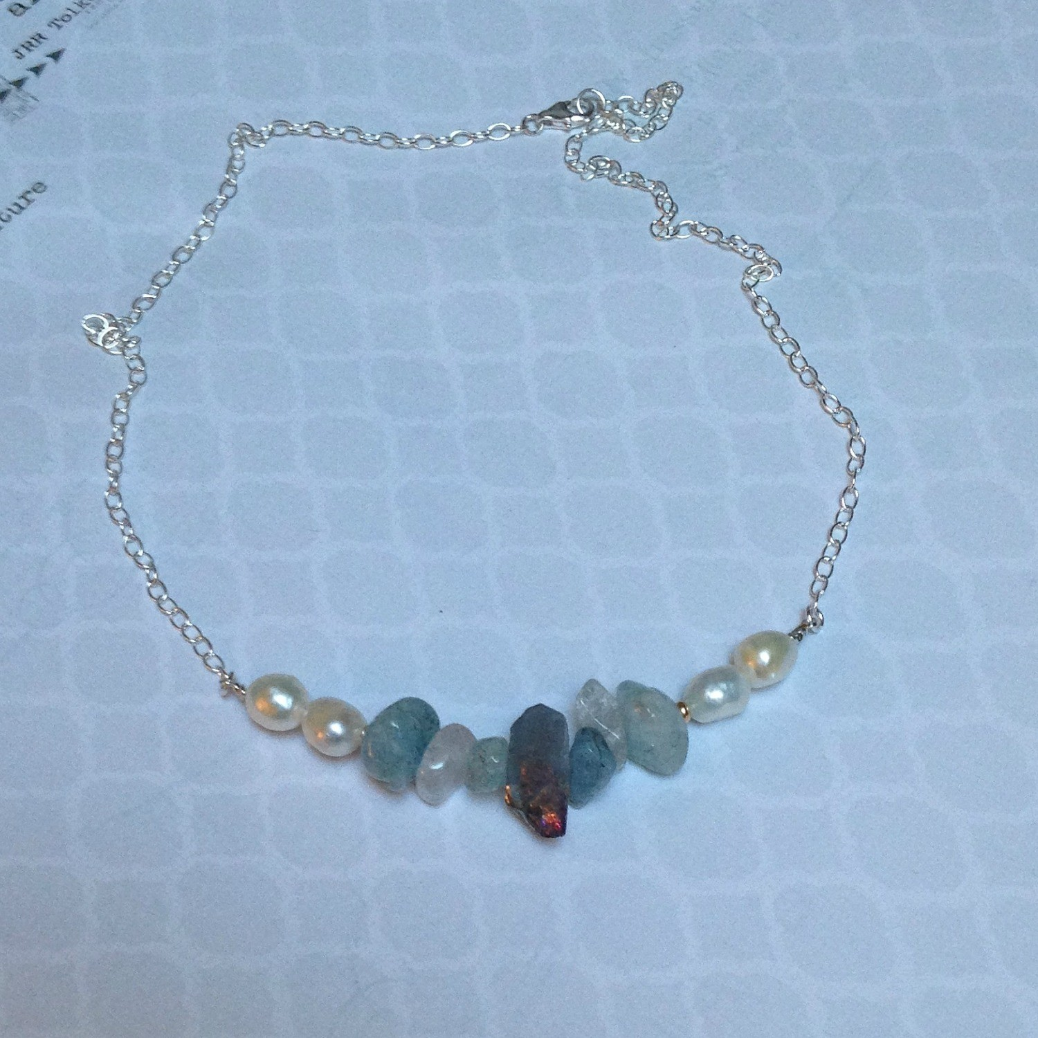 Diana Sterling Necklace
