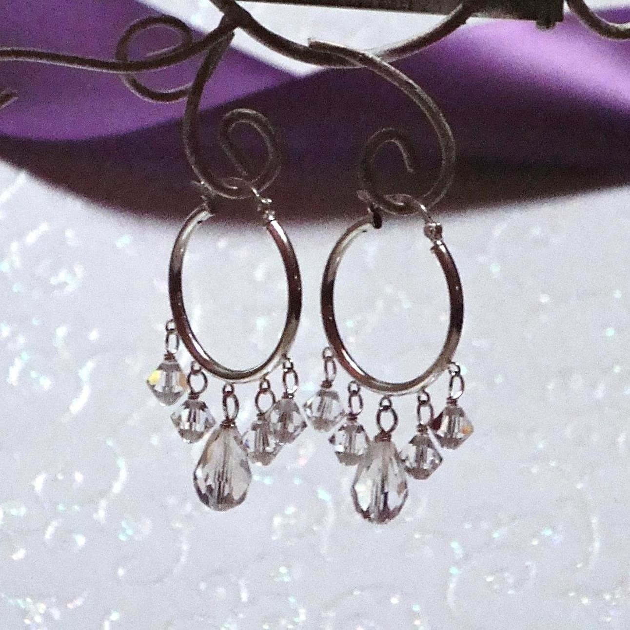 Ophelia Sterling Bridal Earrings